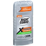 Right Guard Total Defense 5 PowerStripe, Antiperspirant & Deodorant Invisible Solid, Fresh Blast