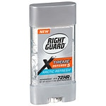 Right Guard Total Defense 5 Power Gel, Antiperspirant & Deodorant, Artic Refresh- 4 oz