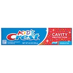 Crest Kid's Cavity Protection