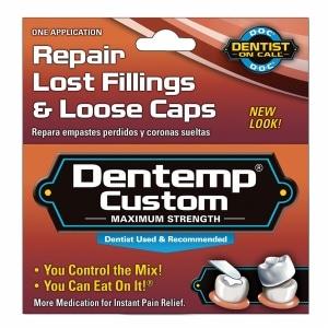 Dentemp Maximum Strength Custom Repair Lost Fillings & Loose Caps- 1 ea