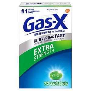 Gas-X Extra Strength Antigas, Softgel- 72 ea