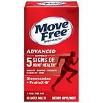 Schiff Move Free Advanced Triple Strength Glucosamine Chondroitin, Coated Tablets- 80 ea
