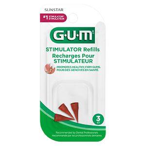 G-U-M Gum Stimulator Refills, 601RQA- 3 ea