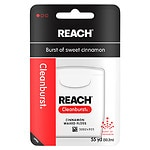 Reach Clean Burst Dental Floss, Cinnamon- 55 yd