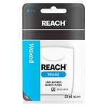 Reach Dental Floss, Waxed, Unflavored- 1 ea