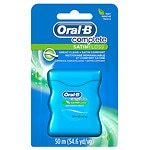 Oral-B Complete Satinfloss Dental Floss, Mint- 55 yd
