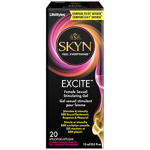 LifeStyles Excite Female Sexual Stimulating Gel- .5 oz