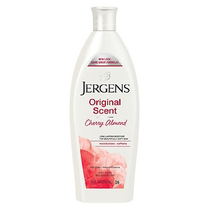 Jergens Original Scent Cherry-Almond Moisturizer, Original