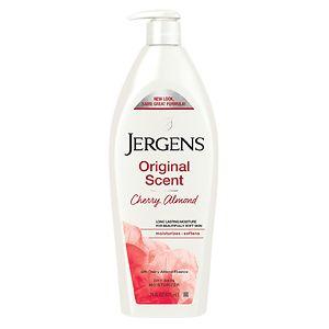 Jergens, Jergens Original Scent Cherry-Almond Moisturizer, Jergens moisturizer, Jergens body lotion, Jergens lotion, Jergens body moisturizer, moisturizer, body moisturizer, lotion, body lotion, body cream, skin, skincare, skin care