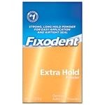 Fixodent Extra Hold, Denture Adhesive Powder