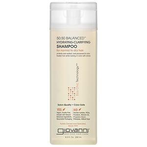 Giovanni 50:50 Balanced Hydrating-Clarifying Shampoo, for Normal to Dry Hair- 8.5 fl oz