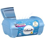 Cottonelle Flushable Moist Wipes Pop-Up Tub, Original