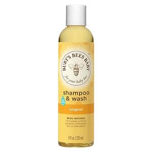Burt's Bees Baby Bee Shampoo & Wash, Original- 8 fl oz