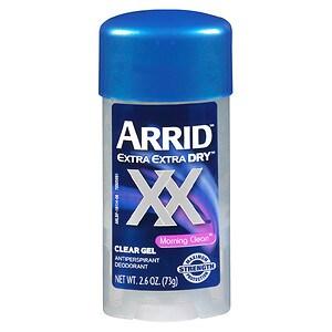 Arrid ExtraDry Antiperspirant & Deodorant, Clear Gel, Morning Clean- 2.6 oz