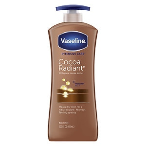 Vaseline Intensive Care Cocoa Radiant Non-Greasy Lotion with Pure Cocoa Butter
