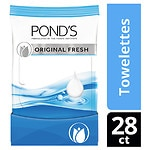 POND'S Wet Cleansing Towelettes, Original Fresh- 30 ct