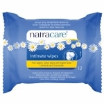 Natracare Organic Cotton Intimate Wipes- 12 ea