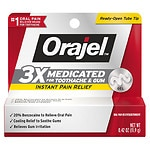 Orajel Maximum Strength Gel Oral Pain Reliever