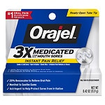Orajel Mouth Sore Medicine, Gel
