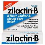 Zilactin-B Mouth Sore Gel- .25 oz