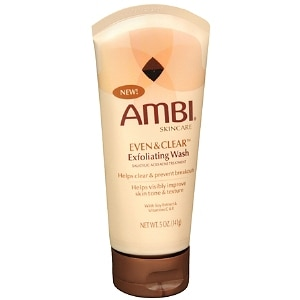 Ambi Even & Clear Skincare, Exfoliating Wash