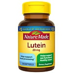 Nature Made Lutein, 20mg, Softgels