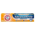 Arm & Hammer Advance White Extreme Whitening Control with Baking Soda & Peroxide, Stain Defense, Fresh Mint