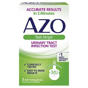 AZO Urinary Tract Infection Test Strips- 3 ea