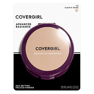 CoverGirl Advanced Radiance Age-Defying Pressed Powder, Classic Beige 115- .39 oz