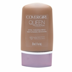 CoverGirl Queen Collection Oil-Free Moisturizing Make Up, Classic Bronze Q710- 1 fl oz