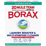 20 Mule Team Borax Natural Laundry Booster & Multi-Purpose Household Cleaner- 76 oz