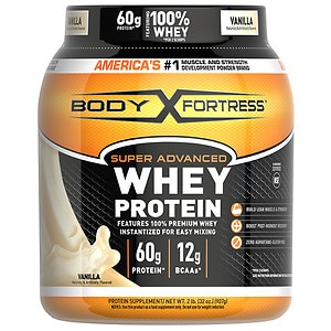 Body Fortress Super Advanced Whey Protein Powder, Vanilla
