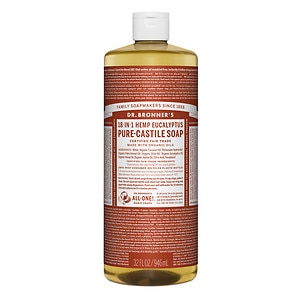 Dr. Bronner's 18-in-1 Hemp Pure-Castile Soap, Eucalyptus&nbsp;