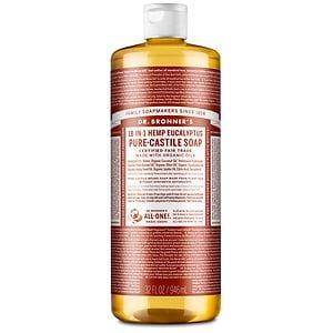 Dr. Bronner's 18-IN-1 Hemp Pure-Castile Soap, Eucalyptus