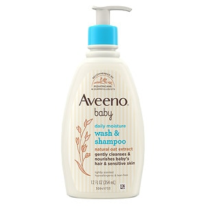 Aveeno Baby Wash & Shampoo, Lightly Scented&nbsp;