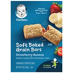 Gerber Graduates for Toddlers Cereal Bars, Strawberry Banana