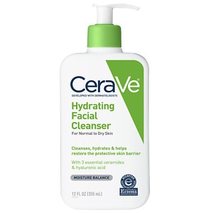 CeraVe Hydrating Cleanser, Normal to Dry- 12 fl oz