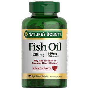 Nature's Bounty Fish Oil, 1200mg, Softgels