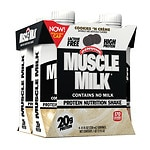CytoSport Muscle Milk Nutritional Protein Shake, 11 oz Cartons, 4
