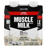 CytoSport Muscle Milk Protein Nutrition Shake, 11 oz Cartons, 4