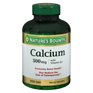 Nature's Bounty Calcium 500mg with Vitamin D3, Tablets