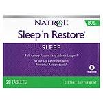 Natrol Sleep 'n Restore, Tablets- 20 ea
