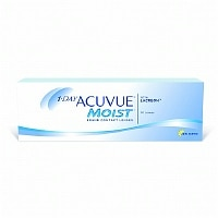 1-Day Acuvue Moist 30 Pk Contact Lens