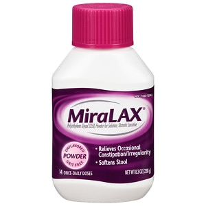 Miralax Laxative Powder For Solution Drugstore Com