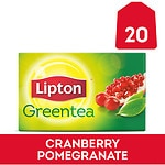 Lipton Green Tea, Cranberry Pomegranate, 20 pk- .08 oz