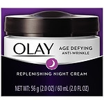 Olay Age Defying Anti-Wrinkle Night Cream, Oil-Free