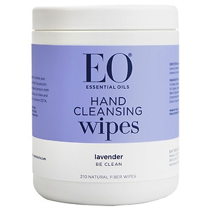 EO All Purpose Sanitizing Wipes, Organic Lavender- 210 ea