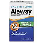 Bausch + Lomb Alaway Eye Itch Relief- .34 fl oz