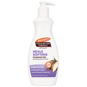 Palmer's Cocoa Butter Formula with Vitamin E, Fragrance Free- 13.5 fl oz