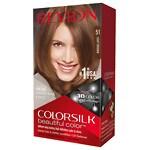 Revlon Colorsilk Beautiful Color, Light Brown 51- 1 ea